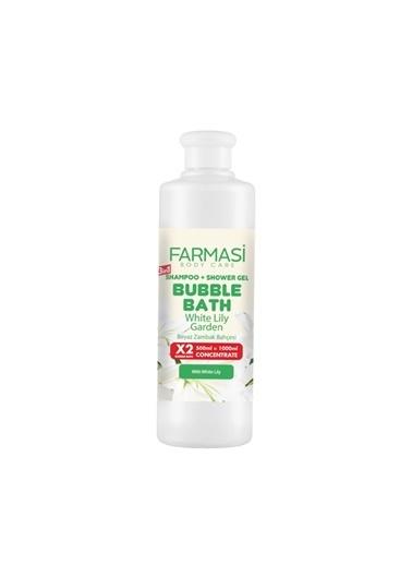 Farmasi Bubble Bath White Lily Beyaz Zambak-500Ml Renksiz